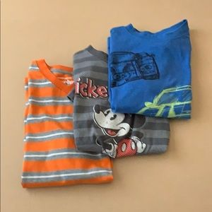 3 boys short sleeved t shirts